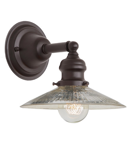 JVI Designs 1210-08-S1-SR Union Square 1 Light 8 inch Oil Rubbed Bronze Wall Sconce Wall Light photo