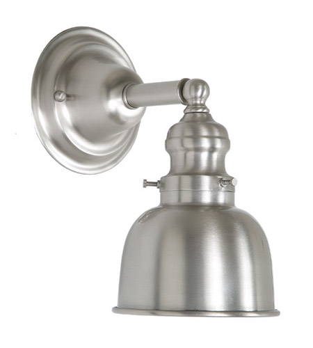 JVI Designs 1210-17-M2 Union Square 1 Light 5 inch Pewter Wall Sconce Wall Light photo