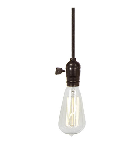 JVI Designs 1224-08 Union Square 1 Light 2 inch Oil Rubbed Bronze Mini Pendant Ceiling Light photo