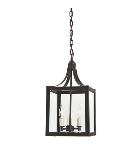 JVI Designs Columbia Arc 3 Light Hanging Lantern Pendant in Oil Rubbed Bronze 3023-08 photo