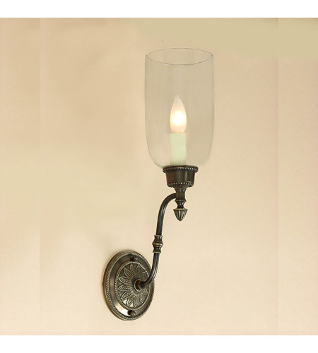 JVI Designs Hurricane 1 Light Wall Sconce in Oil Rubbed Bronze 820-08 photo