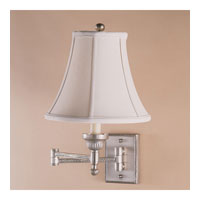 JVI Designs Beaded 1 Light Swing Arm Sconce in Pewter 106-17