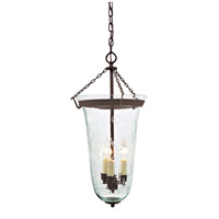 JVI Designs 1099-08 Sophia 3 Light 13 inch Oil Rubbed Bronze Bell Jar Pendant Ceiling Light