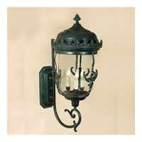 JVI Designs Gryphon 3 Light Large Outdoor Ceiling Mount in Verde 1117-25