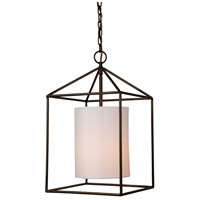 JVI Designs 1184-08 Decatur 1 Light 12 inch Oil Rubbed Bronze Pendant Ceiling Light