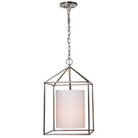 Decatur 1 Light 12 inch Polished Nickel Pendant Ceiling Light