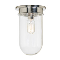 JVI Designs 1188-15 Boston 1 Light 7 inch Polished Nickel Flush Mount Ceiling Light