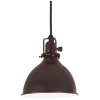 Union Square 1 Light 7 inch Oil Rubbed Bronze Pendant Ceiling Light