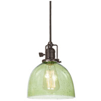 Union Square 1 Light 7 inch Oil Rubbed Bronze Pendant Ceiling Light in Lime Seeded, S5