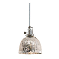 Union Square 1 Light 7 inch Polished Nickel Pendant Ceiling Light