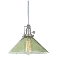Union Square 1 Light 10 inch Pewter Pendant Ceiling Light in Lime Seeded, S2