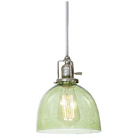 Union Square 1 Light 7 inch Pewter Pendant Ceiling Light in Lime Seeded, S5