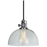 JVI Designs 1200-18-S12-CB Union Square 1 Light 8 inch Gun Metal Pendant Ceiling Light photo thumbnail