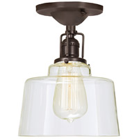 Union Square Buffy 1 Light 7 inch Oil Rubbed Bronze Flush Mount Ceiling Light