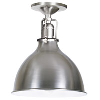 Union Square 1 Light 7 inch Pewter Flush Ceiling Mount Ceiling Light