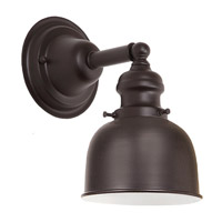 JVI Designs Union Square 1 Light Wall Sconce in Oil Rubbed Bronze 1210-08-M2