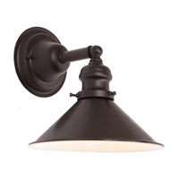 JVI Designs Union Square 1 Light Wall Sconce in Oil Rubbed Bronze 1210-08-M3