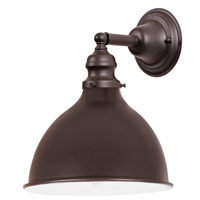 JVI Designs 1210-08-M4 Union Square 1 Light 7 inch Oil Rubbed Bronze Wall Sconce Wall Light photo thumbnail