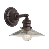 JVI Designs 1210-08-S1-SR Union Square 1 Light 8 inch Oil Rubbed Bronze Wall Sconce Wall Light photo thumbnail
