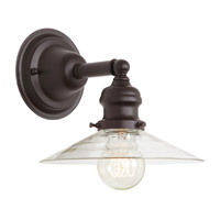 JVI Designs Union Square 1 Light Wall Sconce in Oil Rubbed Bronze 1210-08-S1