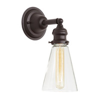 JVI Designs Union Square 1 Light Wall Sconce in Oil Rubbed Bronze 1210-08-S10