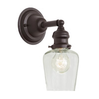 JVI Designs Union Square 1 Light Wall Sconce in Oil Rubbed Bronze 1210-08-S9
