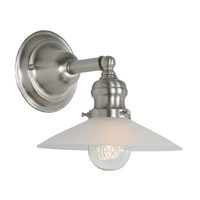 JVI Designs Union Square 1 Light Wall Sconce in Pewter 1210-17-S1-F