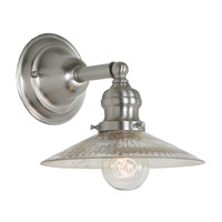 JVI Designs Union Square 1 Light Wall Sconce in Pewter 1210-17-S1-SR