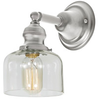 JVI Designs 1210-17-S4 Union Square 1 Light 5 inch Pewter Wall Sconce Wall Light photo thumbnail