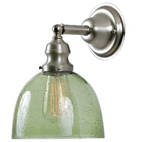 Union Square 1 Light 7 inch Pewter Wall Sconce Wall Light in Lime Seeded, S5