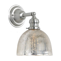JVI Designs Union Square 1 Light Wall Sconce in Pewter 1210-17-S5-SR
