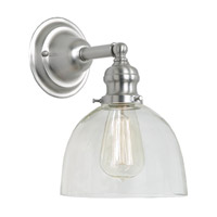 JVI Designs Union Square 1 Light Wall Sconce in Pewter 1210-17-S5