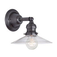 Union Square 1 Light 8 inch Gun Metal Wall Sconce Wall Light
