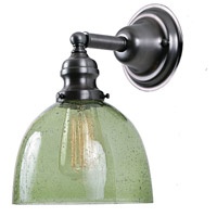 JVI Designs 1210-18-S5-LB Union Square 1 Light 7 inch Gun Metal Wall Sconce Wall Light in Lime Seeded, S5 photo thumbnail