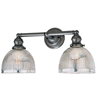 Union Square Madison 2 Light 19 inch Gun Metal Bathroom Wall Sconce Wall Light