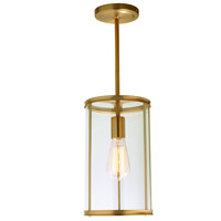 JVI Designs 1241-10 Gramercy 1 Light 7 inch Satin Brass Pendant Ceiling Light