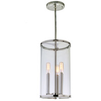JVI Designs 1243-15 Gramercy 3 Light 8 inch Polished Nickel Pendant Ceiling Light