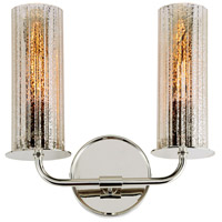 JVI Designs 1248-15 Fremont 2 Light 13 inch Polished Nickel Wall Sconce Wall Light