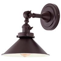 JVI Designs 1251-08-M3 Soho 10 inch 100 watt Oil Rubbed Bronze Swing Arm Wall Sconce Wall Light