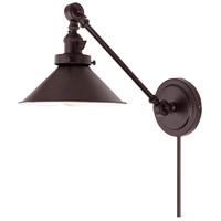 JVI Designs 1255-08-M3 Soho 2 inch 100 watt Oil Rubbed Bronze Swing Arm Wall Sconce Wall Light
