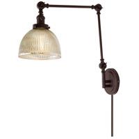 JVI Designs 1257-08-S5-MP Soho 35 inch 100 watt Oil Rubbed Bronze Swing Arm Wall Sconce Wall Light