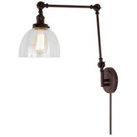 JVI Designs 1257-08-S5 Soho 35 inch 100 watt Oil Rubbed Bronze Swing Arm Wall Sconce Wall Light