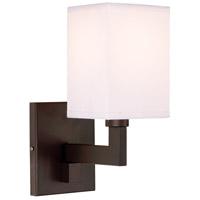 JVI Designs 1263-08 Allston 9 inch 60 watt Oil Rubbed Bronze Swing Arm Wall Sconce Wall Light