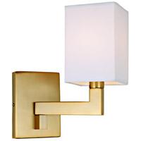 JVI Designs 1263-10 Allston 9 inch 60 watt Satin Brass Swing Arm Wall Sconce Wall Light