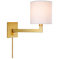 JVI Designs 1264-10 Allston 16 inch 100 watt Satin Brass Swing Arm Wall Sconce Wall Light