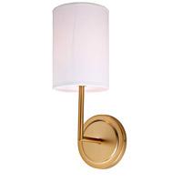 JVI Designs 1270-10 Elliot 1 Light 5 inch Satin Brass Wall Sconce Wall Light in Rubbed Brass