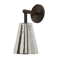 JVI Designs Grand Central 1 Light Wall Sconce in Oil Rubbed Bronze 1303-08-G1-AM