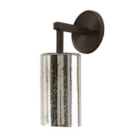 JVI Designs Grand Central 1 Light Wall Sconce in Pewter 1303-17-G5-AM