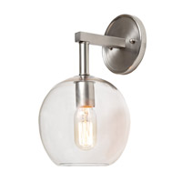 JVI Designs Grand Central 1 Light Wall Sconce in Polished Nickel 1303-15-G6