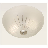 Roman 2 Light 15 inch Pewter Flush Mount Ceiling Light